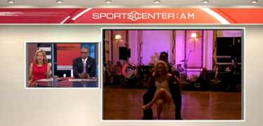 Screenshot of SportsCenter Video- click to play